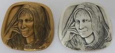 Barbra Streisand 999 Silver & Bronze Medal Alex Shagin Jewish-American Hall of F