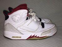 Men's Size 12 Nike Air Jordan Son Of Mars White Red Black Sneakers 512245-112
