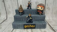 HARRY POTTER FUNKO POPS. DISPLAY. MYSTERY MINIS. DIORAMA. 3 TIER