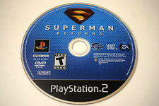Superman Returns Sony Playstation 2 PS2 Video Game Disc Only