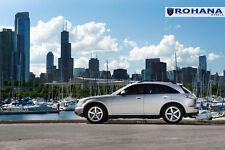 20x9 +35 20x10 +40 Rohana RC22 5x114.3 Silver Wheel Fit Infiniti Fx35 Fx45 5x4.5