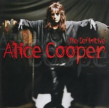 ALICE COOPER THE DEFINITIVE ALICE COOPER CD (GREATEST HITS / VERY BEST OF)