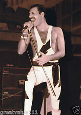 QUEEN FREDDIE MERCURY PHOTO 1984 UNIQUE UNRELEASED IMAGE 12 INCH EXCLUSIVE RARE