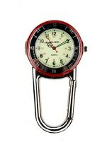clip on carabiner watch chef hiker paramedic F123