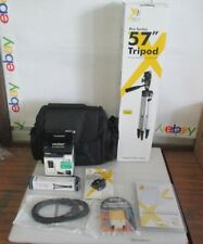 Pro Series 57 Inch Tripod plus accessories