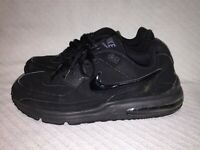Men's Size 11 Nike Air Max Black Anthracite Low Running Sneaker Shoes 687974-002