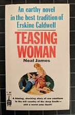 Teasing Woman by Neal James 1964 Vintage Paperback