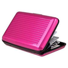 Aluminum Wallet RFID Blocking Waterproof Credit Card Holder Case Pocket Unisex