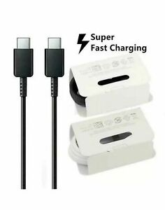 Type C  USB C adapter OTG  NOTE 20 5G S20 S21 ULTRA Super Fast USB Charger Cable