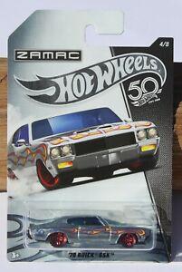 Hot wheels HW Zamac '70 Buick GSX Car 4/8 Silver FNQHotwheels FH929