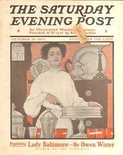 1905 SATURDAY EVENING POST SEP OCT 28  ORIGINAL COMPLETE ISSUE
