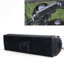 Motorcycle Bike Sound System Handlebar Speakers FM Radio Audio MP3 Stereo #1
