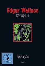 EDGAR WALLACE Edition 04 SCHWARZE ABT Indische Tuch HEXER Zimmer 13 * 4 DVD Box