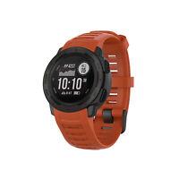 Für Garmin Instinct Watch mit Werkzeug Silikon Uhrenarmband Armband Ersatzteil