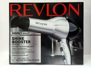 Revlon Heat 1875w Pro Stylist Shine Boosting Hair Dryer RV484SIL2