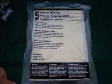 DAYTON 3UP64 Filter Bag,2-Ply,6 gal.,PK5