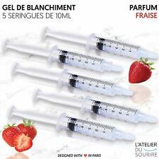 Kit 5 gel blanchiment dentaire  - 5x10 ml de gel dentaire [Produit blanchiment]