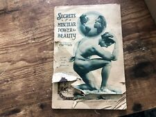 Early CHARLES ATLAS Secrets Muscular Power Beauty 1922 gay interest PERFECT MAN