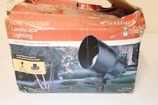 Landscape Lighting Kit Malibu Low Voltage Lights Halogen 20 Watt Outdoor Set