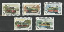 1996. Russia. History of Russian Trams. Set. MNH