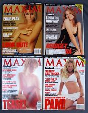 Maxim Men Magazine #13 November 1998 #15 Jan/Feb #20 July/Aug #21 September 1999