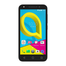 "Alcatel U5 4G/LTE, 5"", Quad-Core, Cocoa Gray(selfie flash) AUS STOCK UNLOCKED"