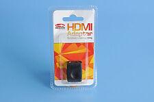 REEKIN HDMI Kupplung - Buchse auf Buchse, Adapter für Kabel Verlängerung Full HD