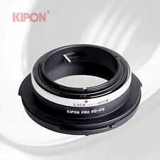 Kipon Adapter for Canon FD Lens to SONY FZ Mount Video Camera PMW-F3 F5 F55