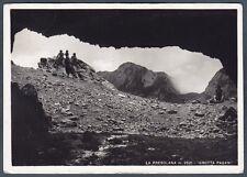 BERGAMO PRESOLANA 02 MONTAGNA Cartolina FOTOGRAFICA viaggiata 1955