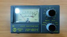 ZETAGI HP201 Rosmetro/Wattmetro  3-200 MHZ - 2 KW in SSB