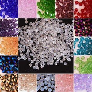 Wholesale!100-1000pcs 4/6/8mm crystal warovsk 5301# Bicone Beads, U Pick color