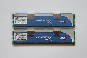 4GB (2x2GB) Kingston HyperX DDR2 Memory 1066MHz CL5 PC2-8500 KHX8500D2K2/4G