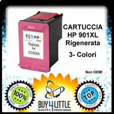 Cartuccia Rigenerata per HP 901 Colore Officejet J4524 J4535 J4580 J4624 J4660
