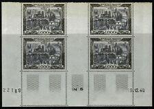 FRANCE 1950 VUE de PARIS Bloc PA n° 29 neuf ★★ luxe / MNH CD 29/1/34