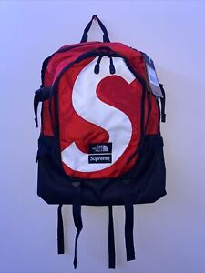 Supreme The North Face S Logo Expedition Backpack Red *IN HAND*