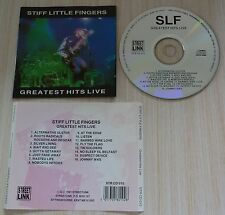 CD album STIFF LITTLE FINGERS GREATEST HITS LIVE 16 TITRES 1991