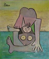 Pablo Picasso  Original gouache and watercolor Painting (Dali,Miro)
