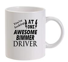 Awesome Bimmer Driver Mug New Funny Birthday Gift Dad  BMW