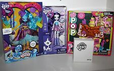 My Little Pony Lot of 4; Equestria Girls, Design Your Own & Pinkie Pie Pop