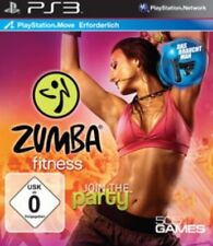 PLAYSTATION 3 ZUMBA FITNESS JOIN THE PARTY senza cintura come nuovo