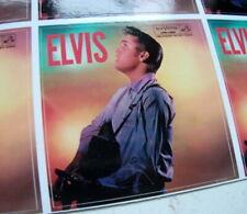 "ELVIS PRESLEY SELF TITLED 1956  ALBUM COVER  QUALITY VINYL STICKER 100MM 4"""