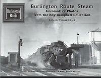 BURLINGTON ROUTE STEAM -- (RARE Out of Print, LAST NEW BOOK)