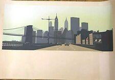 "Howard Kanovitz Serigraph Printer's Proof  by Chromacomp 47"" X 31.5"" Pencil"