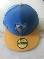 Los Angeles Chargers New Era Fitted Hat Cap Nfl Blue Football
