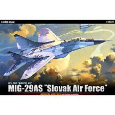 Academy 1/48 MIG-29AS Slovak Air Force 12227 Aircraft Plastic Model Kit
