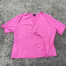 "WOMAN ""Princess Pink"" Women's Short Sleeve Stretch Top (Size 26)"