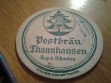sottobicchiere beer mats birra postbrau thannhausen