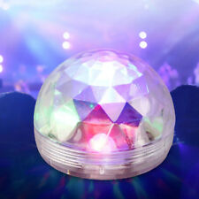 Sound Active RGB LED Stage Light Crystal Ball Disco Home Club DJ Party USB MINI