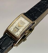Vintage 1930s Lord Elgin 41mm Curved Case 21J American Made Serviced & Warranty