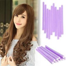 10pcs Magique Mousse Éponge Bigoudi Rouleau Coiffure Cheveux Hair Roller Curler